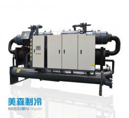 水源对水冷式冷水机组的影响